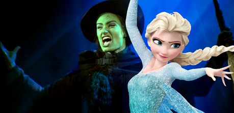 Girls with power - it seems Idina Menzel is destined to play them!