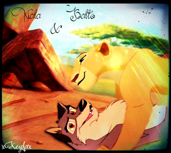 Nala and Balto.
