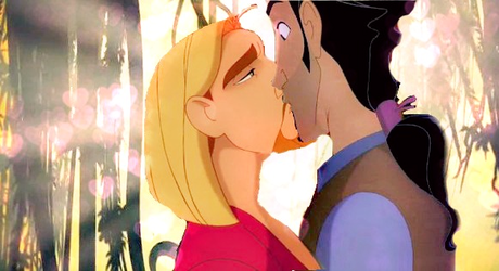 Changed to Miguel/Tulio. I tried to make them kissing... :)