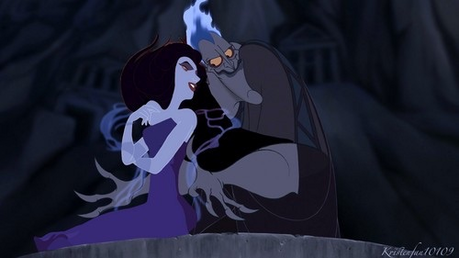 Mine my paborito Villian couple the fabulous Hades and Eris!