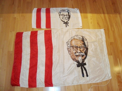 Hello... I have something very cool and extremely rare for any collector of Kentucky Fried Chicken or