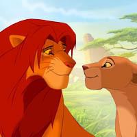 I Liebe Simba and Nala