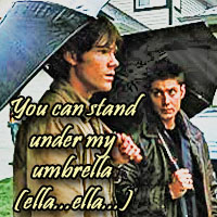 3. Rain (Sam & Dean)