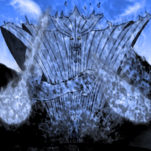 Ketsu: This should back you off..... Come now! Susanoo!!!!! *A giant astral creature surrounded Ketsu