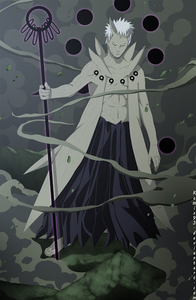 Obito: Take a good luck, *his body underwent transformation* Ketsu: No.... anda really are....