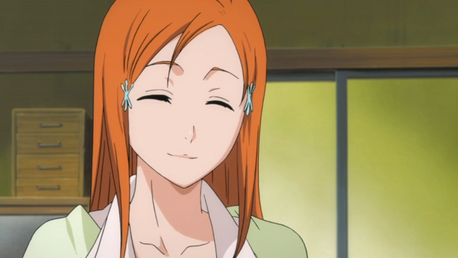 Ketsu: Yeah, Orihime: I'm Orihime Inoue,