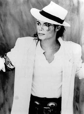 E'Casanova is often mistaken for being Michael. This pic must be one of the most famous ones of E'Cas