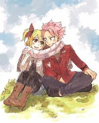 THE CHEMISTRY BETWEEN NATSU AND LUCY REALLY MADE ME LIKE FAIRY TAIL EVEN MORE. EVEN IF IT'S FOR BOYS