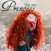 "Mine: ""I'm the princess. I'm the example. I've got duties, responsibilities, expectations. """