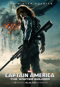 [b]Day 7: Избранное Official Art [i]Movie poster of Bucky for кепка, колпачок 2[/i][/b] I Любовь it so much