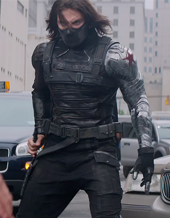 [b]Day 24: kegemaran Costume [i]Bucky Barnes / The Winter Soldier[/i][/b] Also Cap's costume fro