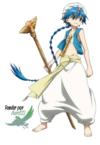 Lots of characters from Magi: Aladdin