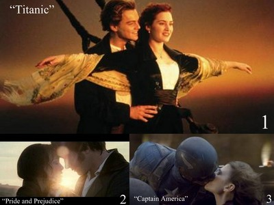 Round 16 Romantic movie scene 1st 3xZ 2nd 19leeann 3rd rosedawson1