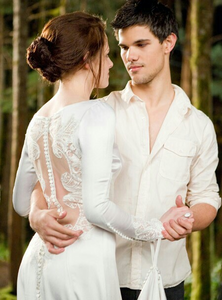 Bella and Jake in white...
