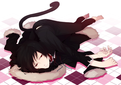 Ummm I don&#39;t watch Reborn but this picture is too adorable > < date~ Izaya? X3