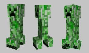 Reptila: Oh are there any creepers? ( transforms into creeper. )