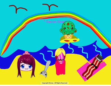 Reptila: nope! ( drops something and it floats por amy. I made this 2day! )