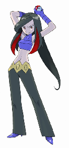 Reptila: uh, just.... nobody. ( this is what she looked like as a human )