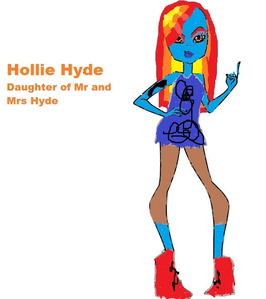 (BTW here's what Hollie looks like. I'm still working on Amy)