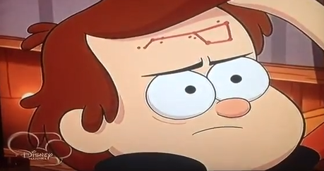 Wendy: ( back to the story )Yeah, so can tu mostrar me your birthmark again? Dipper: are tu serriou
