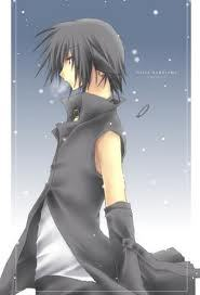 (using my own character) Name: Valon Yagami Monster type: Half demon half angel Hair color: (refer
