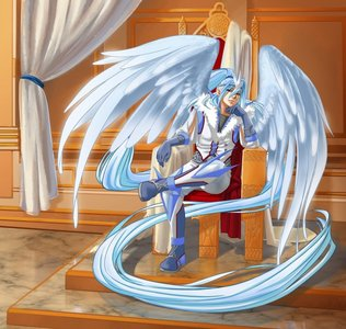 arekkusu III:*walks to his cell then makes two throwns of ice then goes and sits down like in the pic