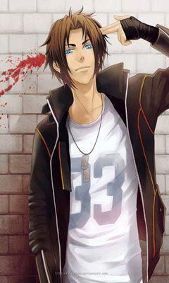 """Ace scratched the back of his head. """"Im Ace."""" (This is Ace)"""