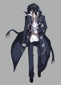amaimon:time to get serious*he walked to the cage appearing to be like a diffrent person in all*hello