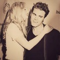With Paul Wesley