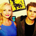 2.With Paul Wesley