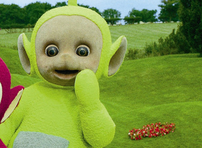 [u]Day 11 - Favourite Male Character In A Child's TV Show[/u] [i]Dipsey - Teletubies[/i]