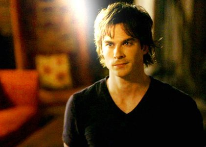 dia Ten: favorito male character in a scifi/supernatural show Damon Salvatore - The Vampire Diarie