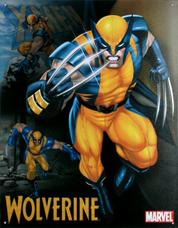 день Eleven: Избранное male character in a children's Показать - Wolverine