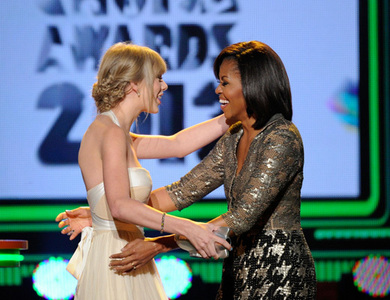 Here's mine! Taylor with Michelle Obama.. is it okay?