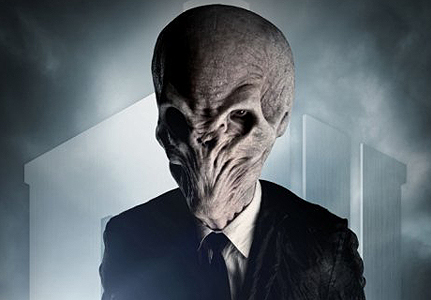 I have never encountered the 'slenderman' before, but do think he resembles the Silence a little. :)
