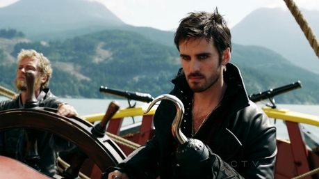 Hard to tell, they're cartoons... Maybe Captain Hook from Once Upon A Time Wait, only Disney male