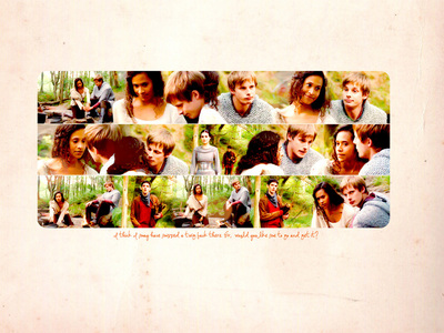 Oh wow! What a genius forum! ♥ Freddie and Effy (Skins) Arthur and Gwen (Merlin) Eleven and Am