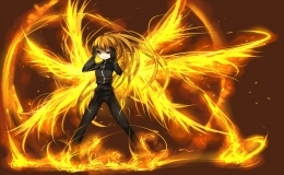 Hero Name: Kyra Grayson (unknown) Alias (Only if you're a hero.): (in five years...) Phoenix Age