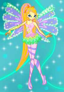 Here's my winx girl! Name: Anabeth Jenkins ( Ana) Status: Fairy Planet: Elementonia Power: Cont