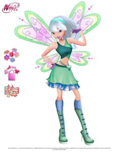 my fairy is the fairy of nature and way better than everybody elses own