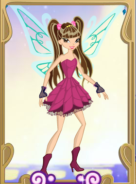 Name: Ana Planet: Encantia Hair : Long, Brown, with two pigtails Brown eyes তারিখ of birth: Decemb