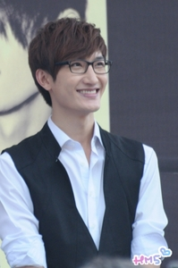 At the moment it is Zhou Mi of Super Junior M :) I amor Gentleman Mimi so much; he's so cute and swee