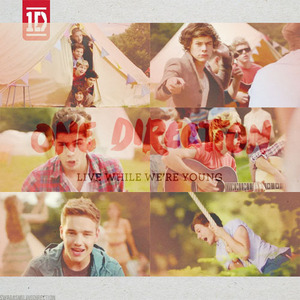 [b]one direction live while we're young[/b]