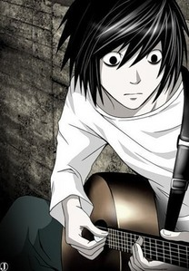 not really :P L from death note :)