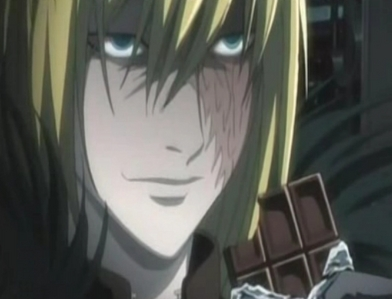 Dunno, haven't got to her yet. Mello from Death Note?