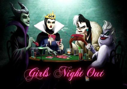 Girls Night Out - huge fan of disney divas