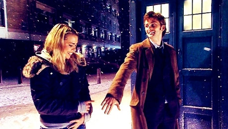 dag 21: favoriete Couple: The Doctor and Rose