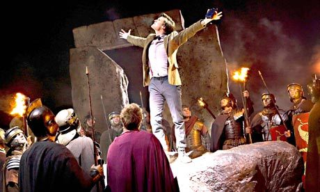 ^LOL!!!! :D The Doctor: Hello Stonehenge! Who takes the Pandorica takes the Universe. But bad news