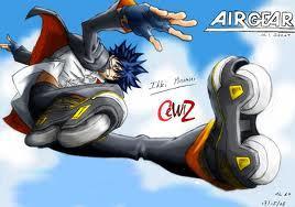Ikki (Itsuki) Minami From Air Gear