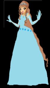 I will be~ Name: Princess Rose Status: Fairy  Planet: Glacis   Power: Ice   Hair: knee length br